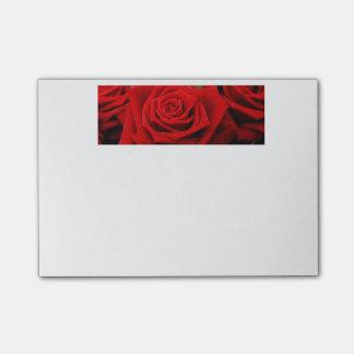 Post-it® Le valentine romantique rouge s'est levé