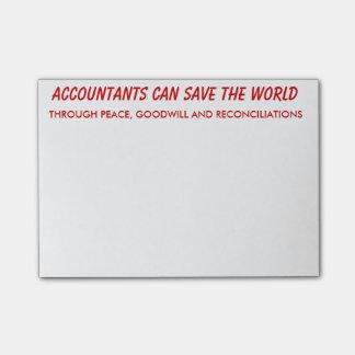 Post-it® Les comptables peuvent sauver les notes de