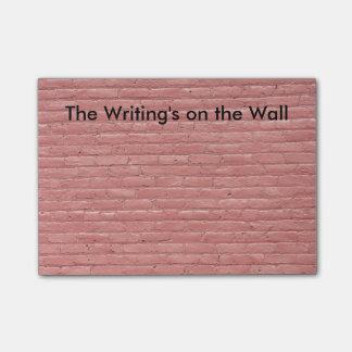 Post-it® Les notes de post-it de mur