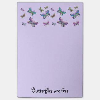 Post-it® Les papillons sont les notes libres de