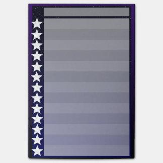 Post-it® Liste de contrôle de nuit étoilée