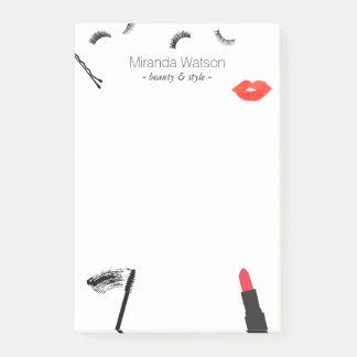 Post-it® Maquilleur de mascara de lèvres de cils d'affaires