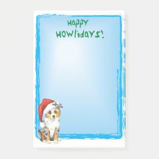 Post-it® Mini berger américain heureux de Howlidays