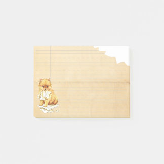 Post-it® Mon Pomeranian a mangé mon travail