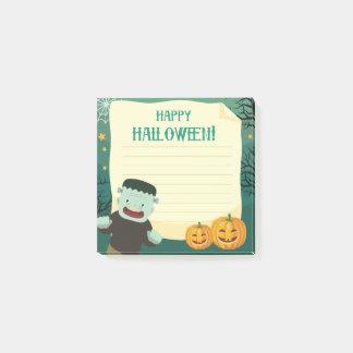 "Post-it® Monstre heureux de Halloween 3"" x 3"" notes de"