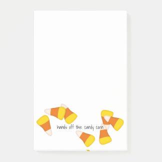 Post-it® Morceaux aléatoires de bonbons au maïs à motif de