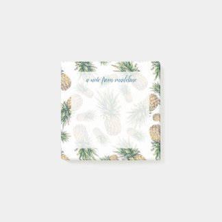 Post-it® Motif d'ananas d'aquarelle