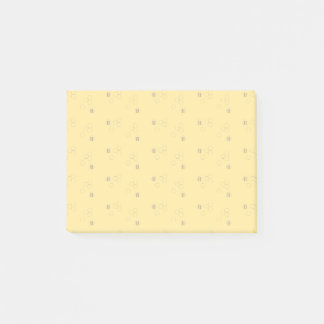 Post-it® Motif de nid d'abeilles d'abeille