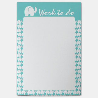 Post-it® Motif d'éléphant