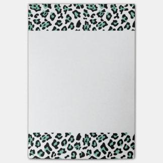 Post-it® Motif noir vert en bon état de poster de animal de