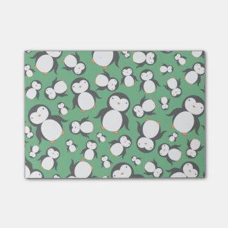 Post-it® Motif vert mignon de pingouin