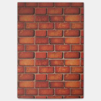 Post-it® Mur de briques rouge