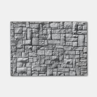 Post-it® Mur en pierre