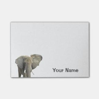 Post-it® Nom personnalisé par éléphant
