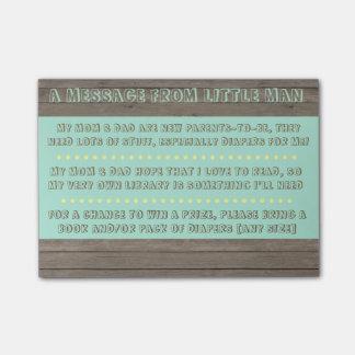 Post-it® Note de baby shower