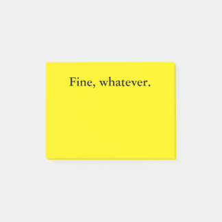 Post-it® Notes agressives passives