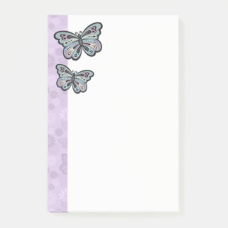 Post-it® Notes audacieuses de papillon