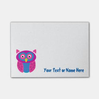 Post-it® Notes collantes de hibou génial