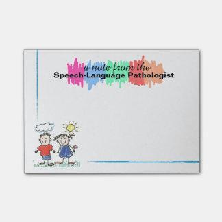 Post-it® Notes collantes de pathologiste coloré de