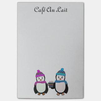 Post-it® Notes de Courrier-it® d'amis de pingouin