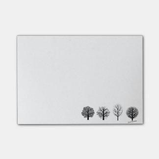 Post-it® Notes de post-it d'arbre
