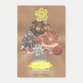 Post-it® Notes de post-it d'arbre de Noël de Steampunk
