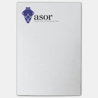Post-it® Notes de post-it d'ASOR