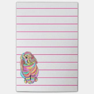Post-it® Notes de post-it de Rainbowbunny