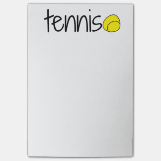 Post-it® Notes de post-it de tennis