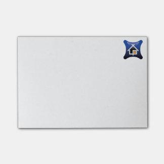 Post-it® notes de post-it d'objet immobilier d'eXp