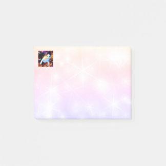 Post-it® Notes de post-it mignonnes colorées de disco de