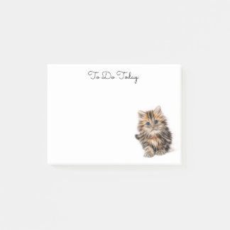 Post-it® Notes de post-it personnalisées par chaton mignon