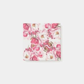 Post-it® Notes de post-it roses de magnolia