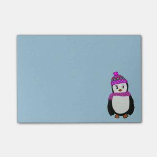 Post-it® Notes mignonnes de Courrier-it® de pingouin