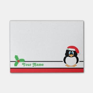 Post-it® Notes personnalisées de Courrier-it® de pingouin