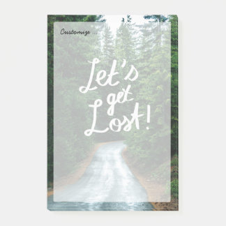 Post-it® Obtenons perdus ! Citez la forêt verte de