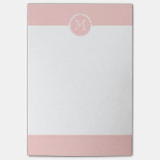 Post-it® Pâlissez - le monogramme coloré à extrémité élevé