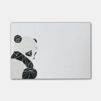 Post-it® Panda géométrique