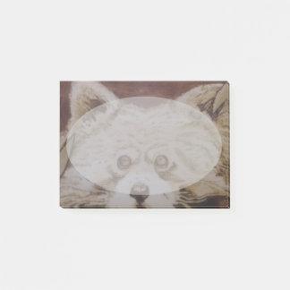 Post-it® Panda rouge