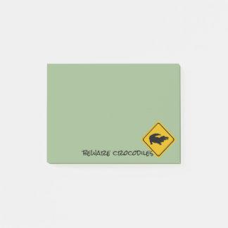 Post-it® panneau routier de crocodile - protection de