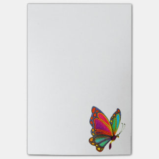 Post-it® Papillon d'arc-en-ciel