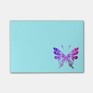 Post-it® Papillon décoratif assez multicolore