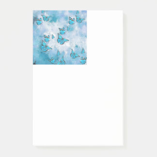 Post-it® Papillons adorables, aqua