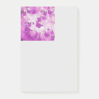 Post-it® Papillons adorables, roses