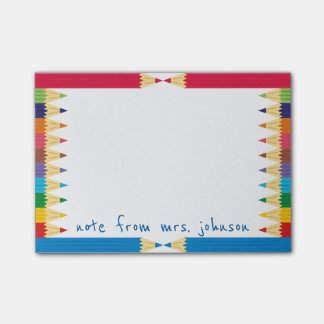 Post-it® Pensionnaire de crayon coloré par cool