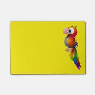 Post-it® Perroquet coloré