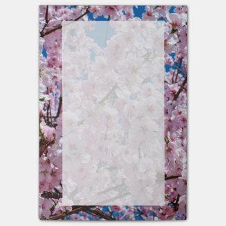 Post-it® photographie rose élégante d'arbre de fleurs de