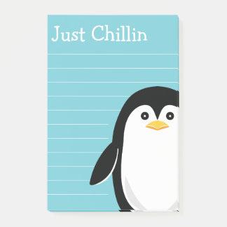 Post-it® Pingouin mignon juste Chillin
