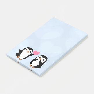 Post-it® Pingouins dans l'amour