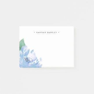 Post-it® Pivoine bleue | personnalisé